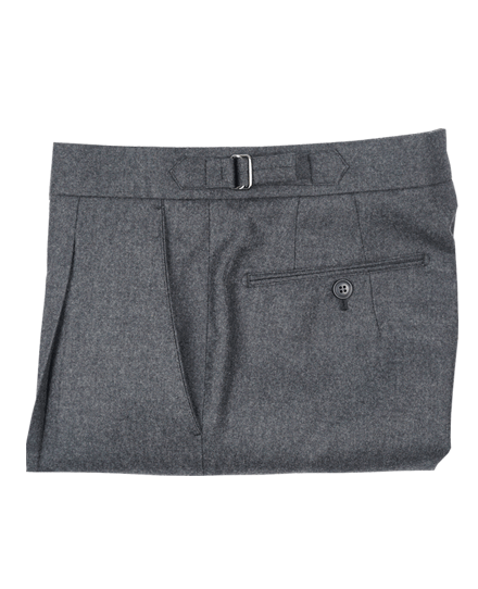 Signature Pants 02FLANNEL CHARCOAL GRAY
