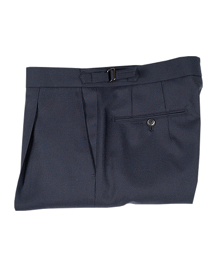 Signature Pants 02SUMMER WOOL NAVY