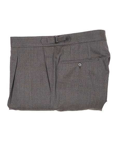 Signature Pants 02SUMMER WOOL LIGHT BROWN